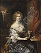 Attributed to Caspar Netscher (Heidelberg 1639-1684 The Hague) , Caspar Netscher, Click for value