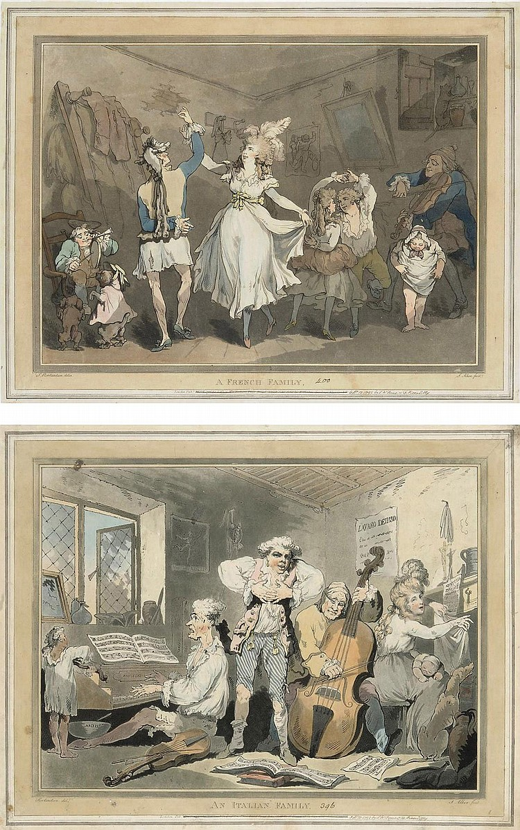 Thomas Rowlandson (1756-1827) and Samuel Alken (1756-1815)