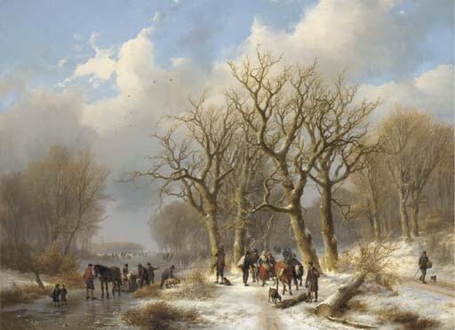 Johann Bernard Klombeck (Dutch, 1815-1893) and Eugène Verboeckhoven (Belgian, 1798-1881)