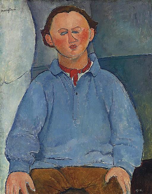 Portrait du sculpteur Oscar Miestchaninoff