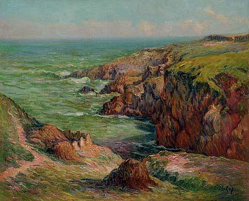 Pointe de Beg Antorn à Moëlan (Finistère)