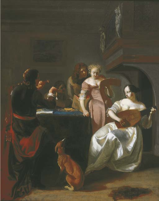 Jacob Ochtervelt (Rotterdam 1634-1682 Amsterdam)