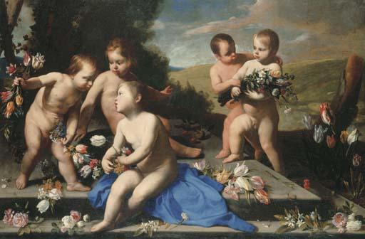 Massimo Stanzione (Orta di Atella c. 1585-1656 Naples) and Luca Forte (Naples c. 1600-before 1670)