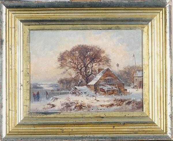 Joseph Morviller (AMERICAN,  CIRCA  1800-1870)