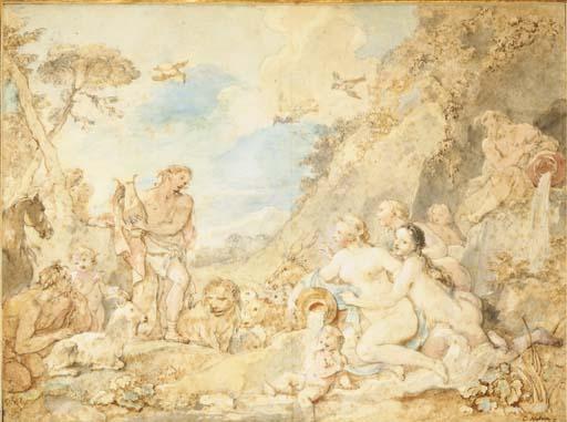 Charles-Joseph Natoire (Nîmes 1700-1777 Castel Gandolfo)