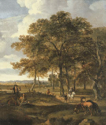 Jan Wynants (Haarlem c.1630-1684 Amsterdam)
