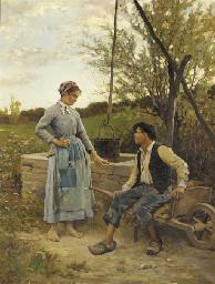 Edouard Bernard Debat-Ponsan (1847-1913)