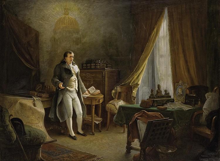 JEAN JULES ANTOINE LECOMTE DU NOUY (PARIS 1842-1923)
