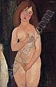 Amedeo Modigliani (1884-1920), Amedeo Modigliani, Click for value