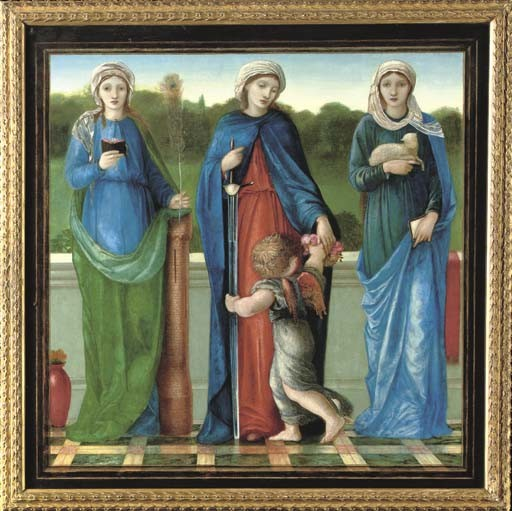 Sir Edward Coley Burne-Jones, Bt., A.R.A., R.W.S. (1833-1898)