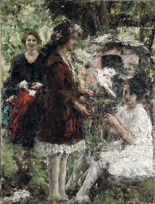 Antonio Mancini (Italia 1852-1930)