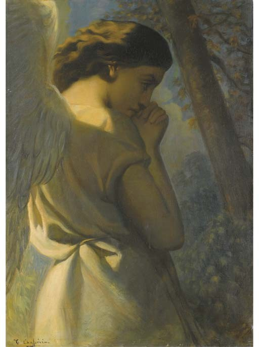 THEODORE CHASSERIAU (SAINTE-BARBE DE SAMANA 1819 - 1856 PARIS)