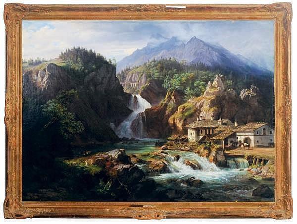 Eduard Agricola (GERMAN, 1800-1848)