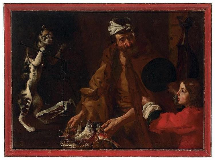 Bernhard Keilhau, Monsù Bernardo (Helsingör 1624-1687 Rome)