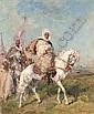 The desert escort , Henri-Emilien Rousseau, Click for value
