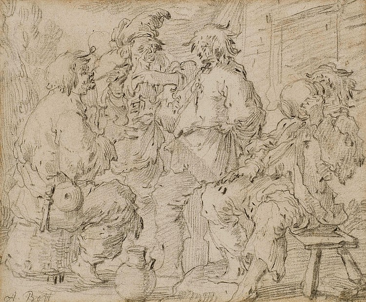 ANDRIES DIRKSZ BOTH (1608-1641)
