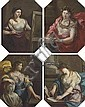 Circle of Simon Vouet (Paris 1590-1649) , Simon Vouet, Click for value