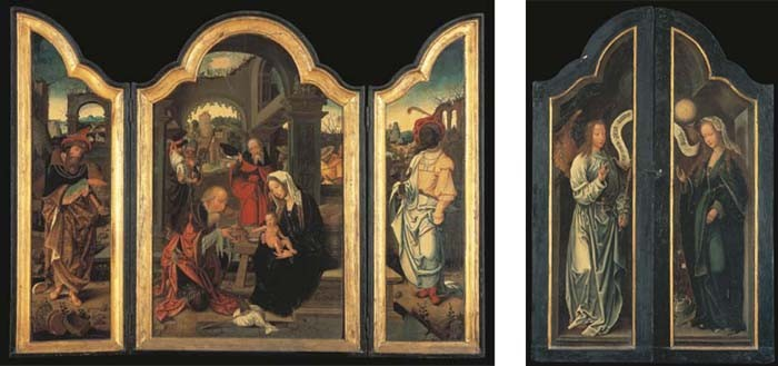 ATELIER DE JAN VAN DORNICKE, DIT LE MAITRE DE 1518 (ANVERS VERS 1540- 1527)