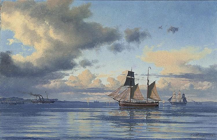 Carl Emil Baagóe (Copenhagen 1829-1902)