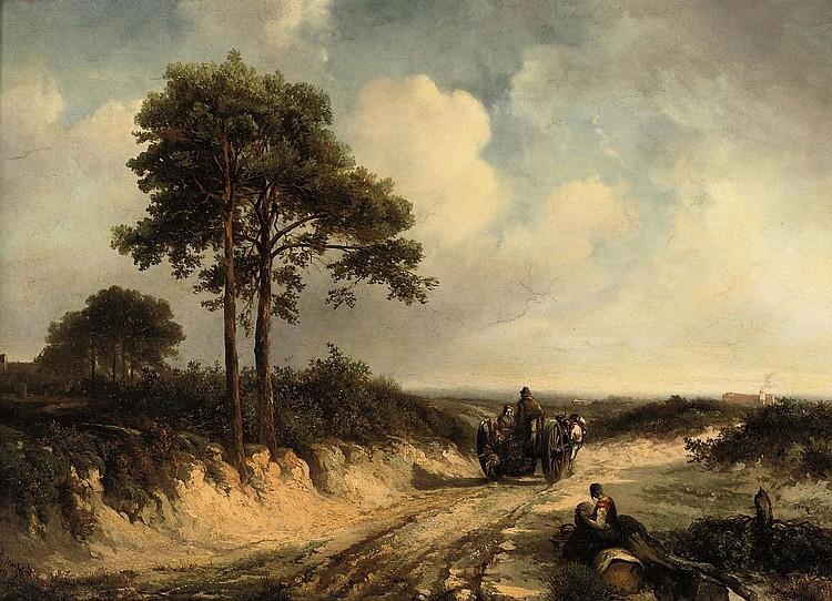 Abraham van der Wayen Pieterszen (Middelburg 1817-1880 Sint-Maria-Horebeke)