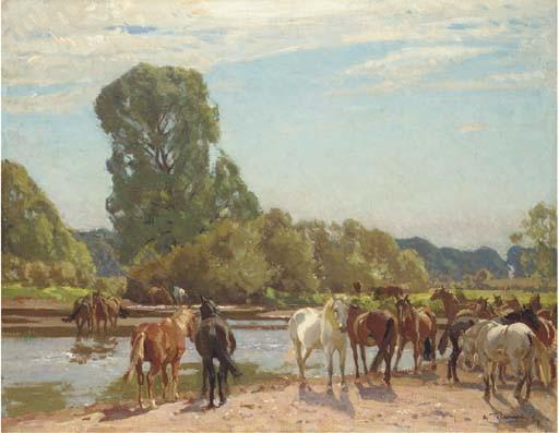 Algernon Talmage, R.A. (1871-1939)
