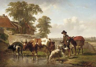 Edouard Woutermaertens (Belgian, 1819-1897)