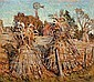 The Cornfield, Grant Wood, Click for value