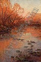 San Antonio River, San Antonio, Texas, Julian Onderdonk, Click for value