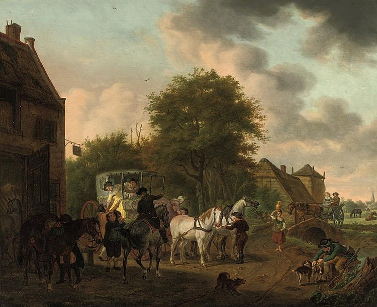 Tethart Philipp Christian Haag (Kassel 1737-1812 The Hague)