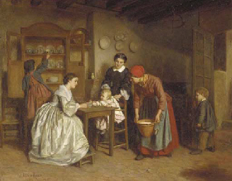 Th'ophile-Emmanuel Duverger (French, 1821-1886)