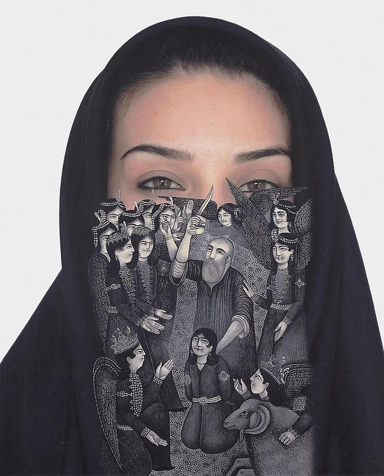 Sadegh Tirafkan (Iranian, b. 1965)