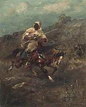 ADOLPHE SCHREYER (GERMAN, 1828-1899)