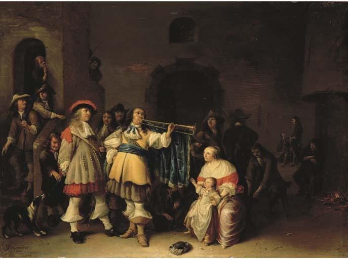 Anthonie Palamedesz. (Delft 1601-1673 Amsterdam)