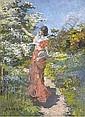 Elizabeth Adela Stanhope Forbes, A.R.W.S. (1859-1912), Elizabeth Adela Armstrong Forbes, Click for value