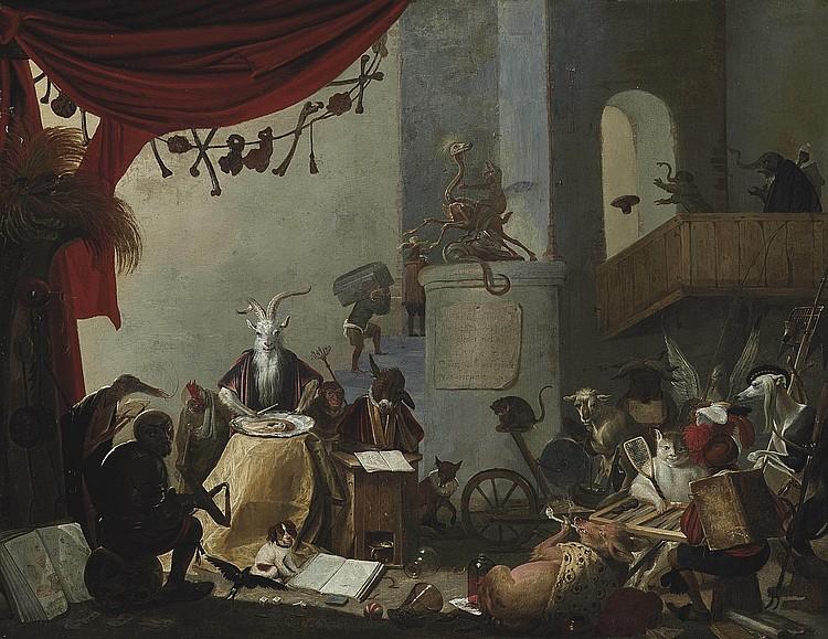 Cornelis Saftleven (Gorinchem 1607-1681 Rotterdam)