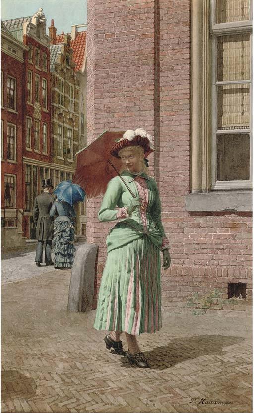 Pieter Haaxman (Dutch, 1854-1937)
