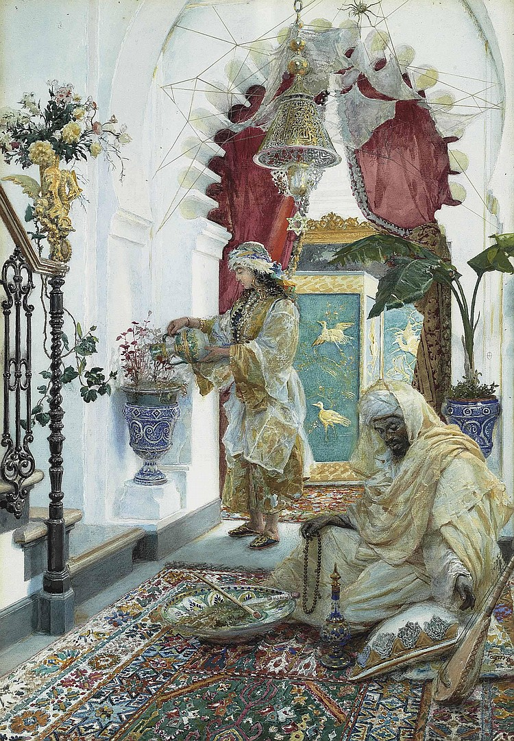 José Tapiro y Baro (español, 1830-1913)