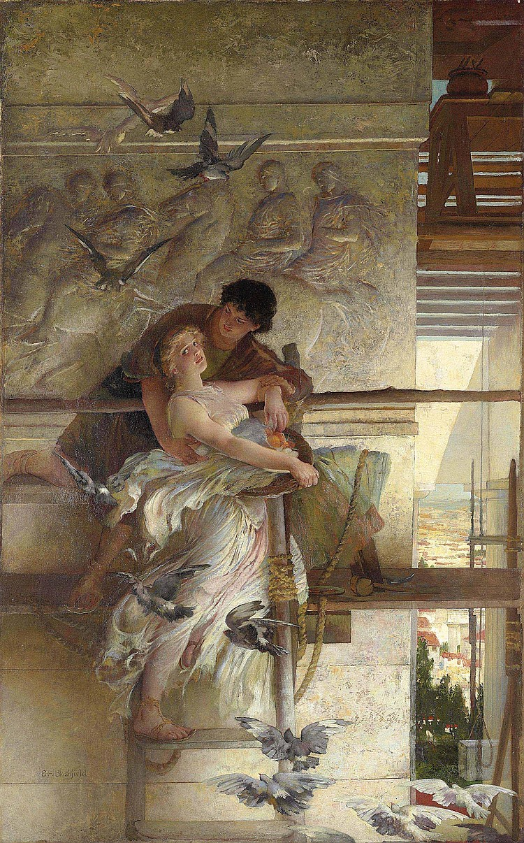 Edwin Howland Blashfield Works on Sale at Auction ...