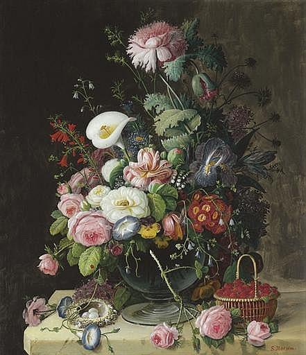 Still Life, Vase of Flowers