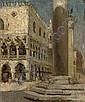 Piazza San Marco, Giacomo Favretto, Click for value