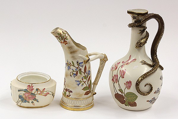 Royal Worcester porcelain group