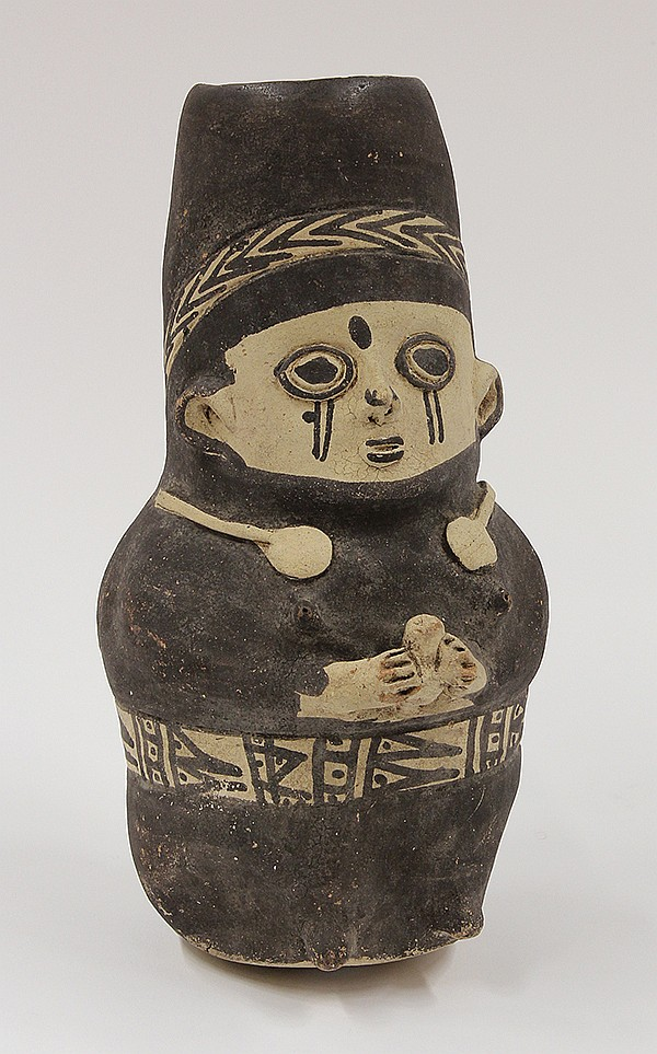Chancay culture, Central Coast Peru, AD 1000, young maternal figure