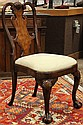 Chippendale style side chair