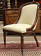 Regency style hall chair