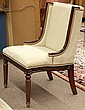 Regency style side chair
