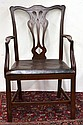 Chippendale style dining chairs