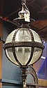 Renaissance style patinated bronze chandelier
