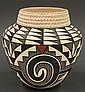 Acoma pottery bowl
