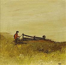 Painting by Robert Irwin