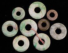 Chinese Jade Bi-Disks